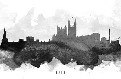 Bath Cityscape 11 Art Print by Aged Pixel