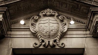 Photograph - Bath Coat Of Arms by Jacek Wojnarowski
