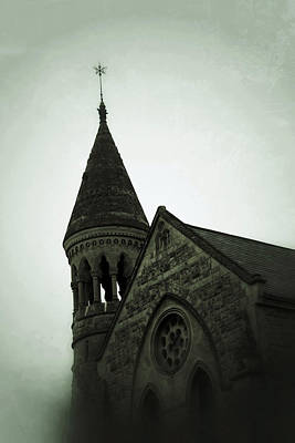 Photograph - Bath England Church by Tony Grider