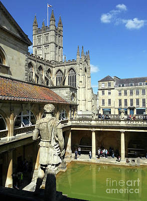 Photograph - Bath England by Gregory Dyer