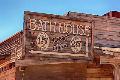 Photograph - Bath House Arizona Style by Chris Smith