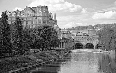 Photograph - Bath On Avon By Mike Hope by Michael Hope