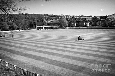 bath recreation ground home to bath cricket club Bath England UK Art Print
