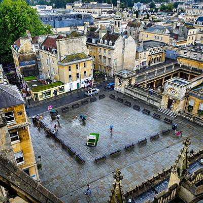 Photograph - Bath Square by Jim Bosch