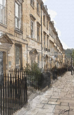 Photograph - Bath Street by Stewart Scott