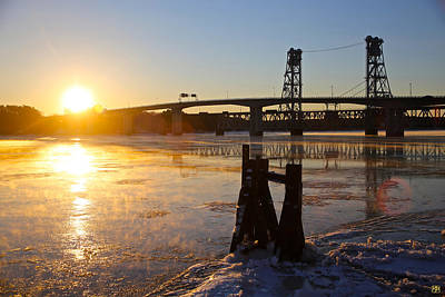 Photograph - Bath Sunrise by John Meader