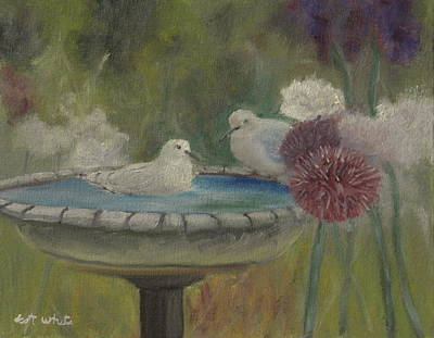 Painting - Bath Time by Scott W White