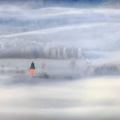 Bathed In Fog Print by Piotr Krol (bax)