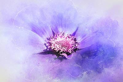 Bathed In Purple Art Print