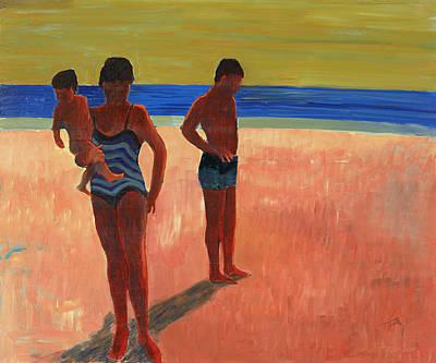 Bathers 88 Art Print