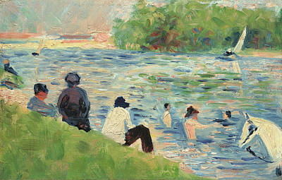 Painting - Bathers by Georges Seurat