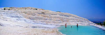 Photograph - Bathing In A Limestone Basin In Pamukkale by Sun Travels