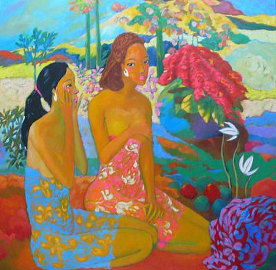 Bathing7 Art Print by Tung Nguyen Hoang