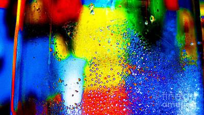 Shower Digital Art - Bathroom Dance by Lucie