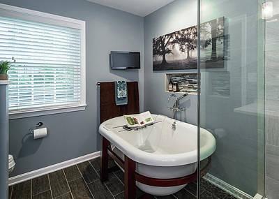 Bathroom Remodeling Reston Va Art Print by Foster