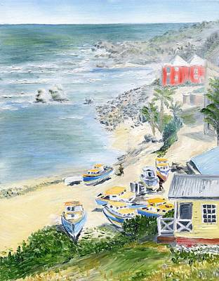 Bathsheba Lookout Art Print