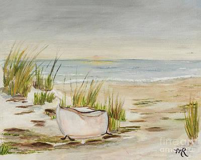 Painting - Bathtub Beach by Monica Hebert