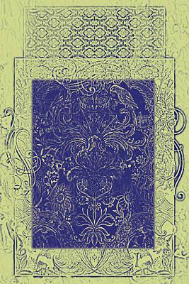 Batik 10 Art Print by Priscilla Huber