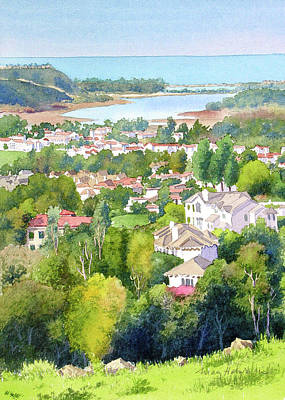 Painting - Batiquitos View by Mary Helmreich