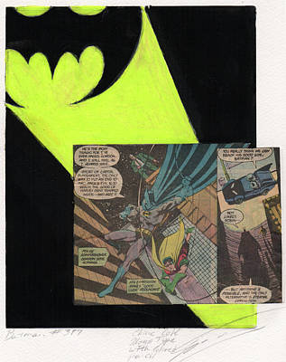 Batman 397 Monotype  Original
