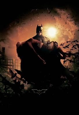 Batman Digital Art - Batman Begins 2005 21 by Unknown