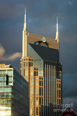 Photograph - Batman Building - Nashville Tennessee by Brian Jannsen