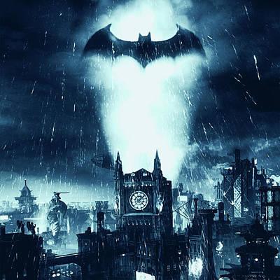 Painting - Batman, Dark Knight Rises - 10 by Andrea Mazzocchetti