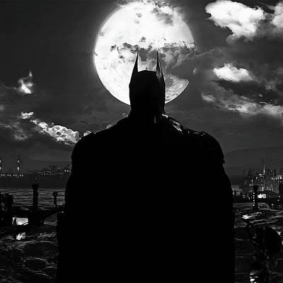 Painting - Batman, Dark Knight Rises - 7 by Andrea Mazzocchetti