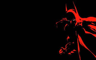 Curve Digital Art - Batman Dark Victory by Maye Loeser