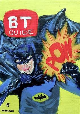 Batman Day 15 Art Print by B T