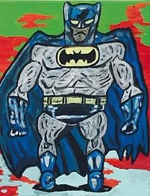 Painting - Batman by Jonathon Hansen