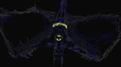 Keaton Digital Art - Batman by Joshua Macneil