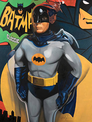 Batman Painting - Batman by Karl Melton