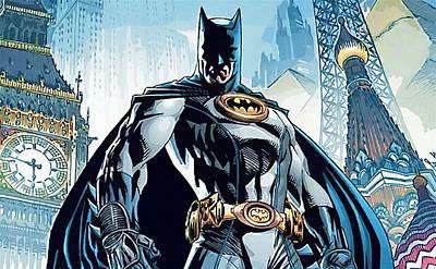 Batman Digital Art - Batman Man Poster by Egor Vysockiy