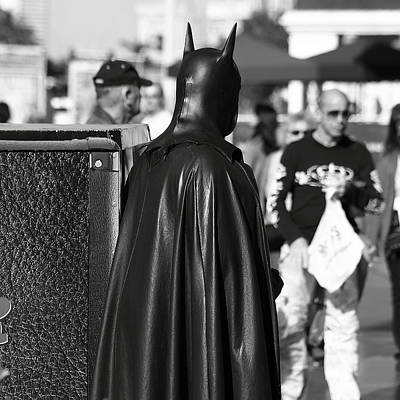 Photograph - Batman by Robert Melvin