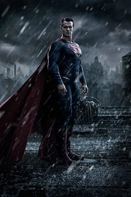 Batman Digital Art - Batman V Superman Dawn Of Justice 2016  by Unknown