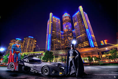 Digital Art - Batman Vs Superman by Nicholas Grunas