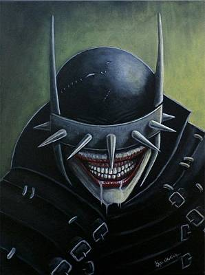 Painting - Batman Who Laughs by Al  Molina