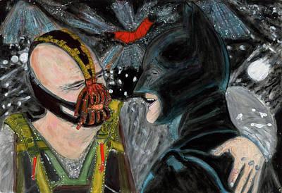 Batman Painting - Batmance by Lindsay Strubbe