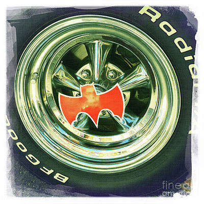 Car Photograph - Batmobile Wheel by Nina Prommer