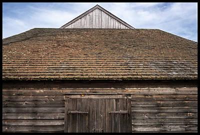 Photograph - Batsto Barns by Glenn DiPaola