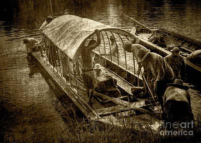 Photograph - Batteau 2 On The James by Pete Hellmann
