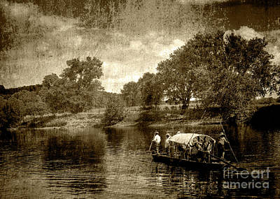 Photograph - batteau on the James by Pete Hellmann