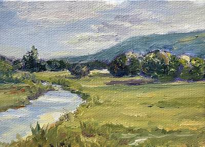 Painting - Battenkill At The Bend by Rachel Barlow