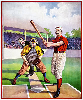 Photograph - Batter At Home Plate by Maria Coulson