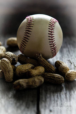 Old Time Feel Photograph - Batter Up by Deborah Klubertanz