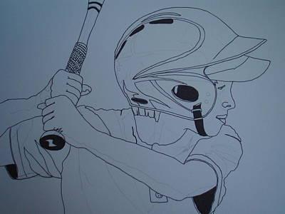 Batter Up Art Print by Michael Runner