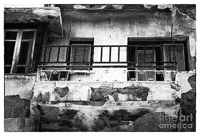 Photograph - Battered Balcony by John Rizzuto
