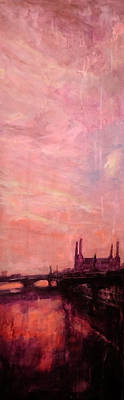 Painting - Battersea Dusk by Paul Mitchell