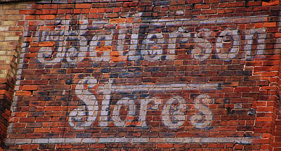 Photograph - Batterson Stores by Jame Hayes